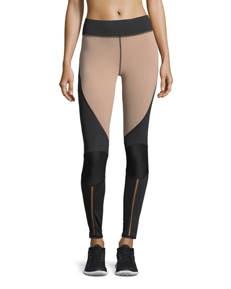 Michi Shift Colorblocked Full-Length Performance Leggings