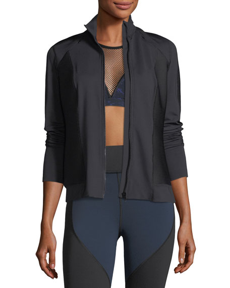 Michi Ignite Mock-Neck Zip-Front Performance Jacket