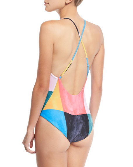 Emma Colorblocked One-Piece Swimsuit