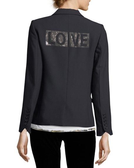 Victor Love One-Button Blazer