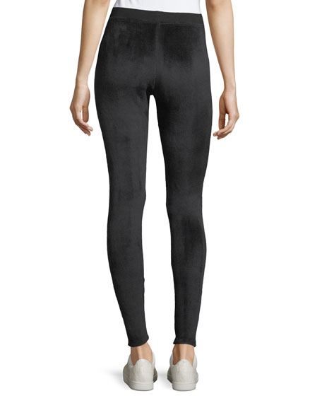 Velour Yoga Performance Tights