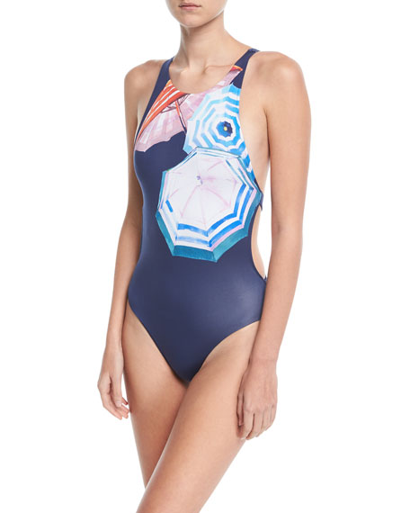 Yvette Umbrella One-Piece Swimsuit
