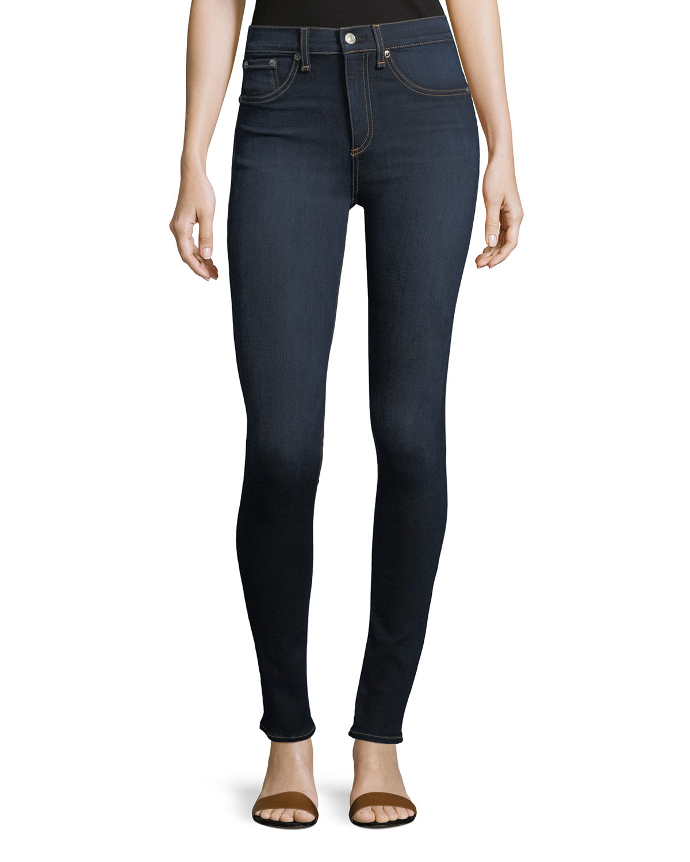 fc10502d1 Rag   Bone High Rise Skinny Jeans