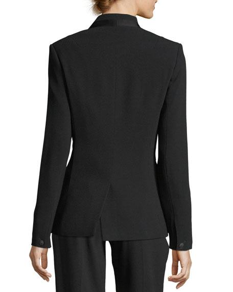 Tuxx Hook-Front Tailored Blazer