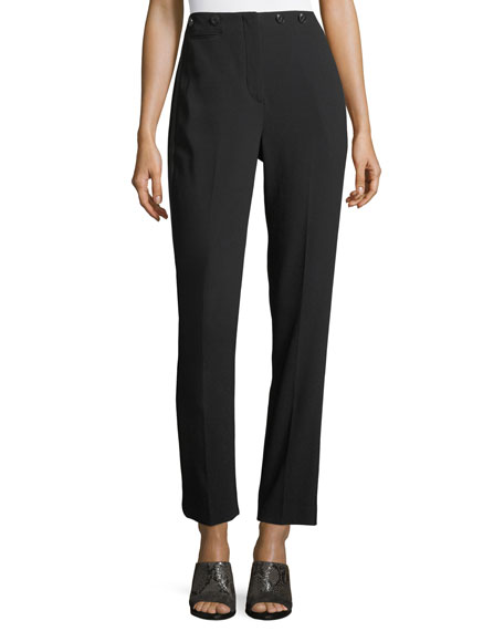 Rag & Bone Dagger High-Waist Straight-Leg Pants