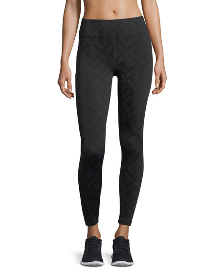 Koral Activewear Drive High-Rise Jacquard Performance Leggings