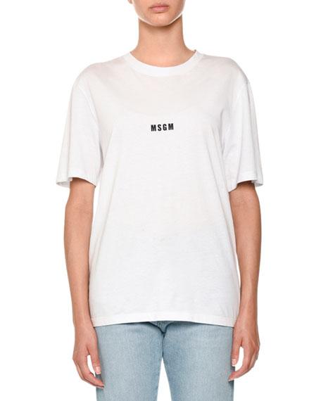 MSGM Micro Logo T-Shirt