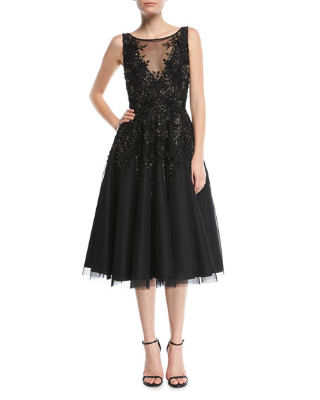 Tea Length Cocktail Dresses for Women