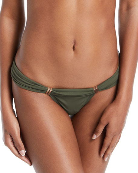 Vix Bia Solid Swim Top, Green (Available in