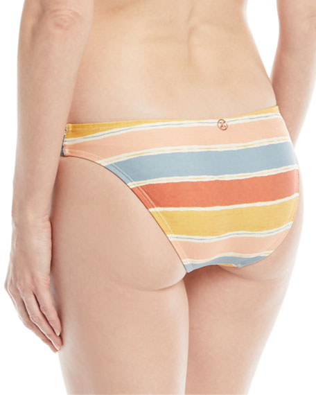 Guadalupe Seamless Striped Swim Bottoms