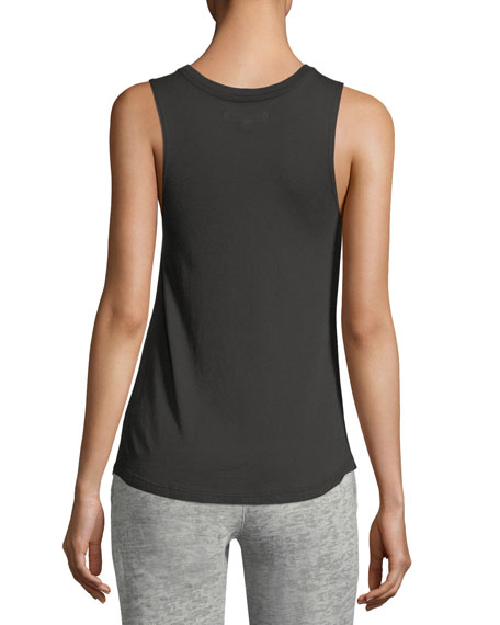 Get Lost Sleeveless Muscle Tank
