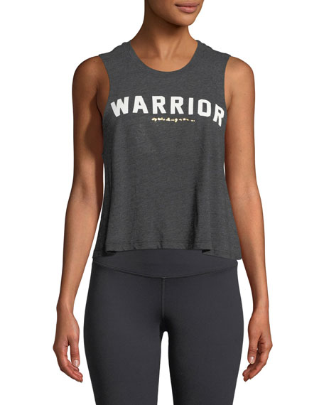 Spiritual Gangster Warrior Crop Tank