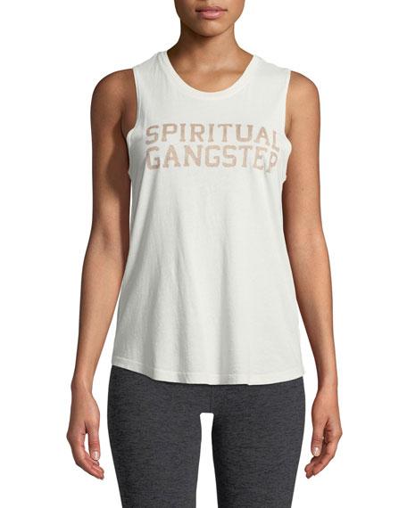 Spiritual Gangster Crewneck Varsity Muscle Tank