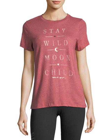Wild Moon Crewneck Tee