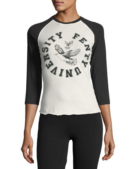 Fenty Puma by Rihanna University Logo 3/4 Sleeve