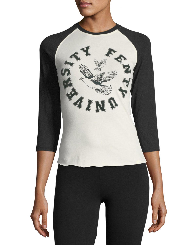 Best Choice Online Sale Online 3/4-length crew-neck T-shirt Fenty Puma by Rihanna Pick A Best Online 100% Original HO8wR