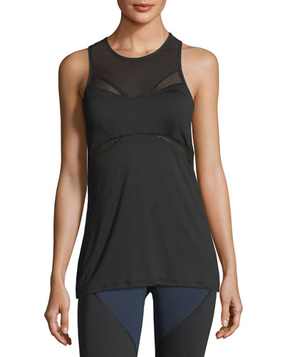 Radiate Crewneck Racerback Performance Tank