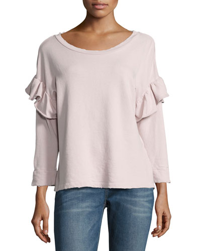 The Ruffle Sweatshirt