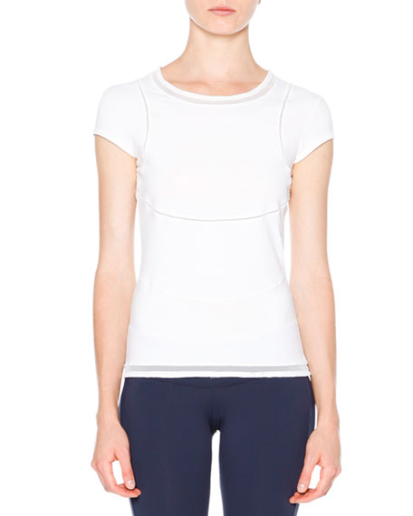 Callens Seamed Short-Sleeve Tee