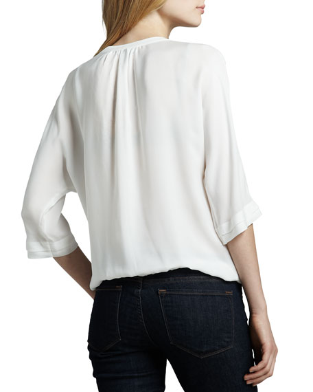 Marru Split-Neck Top