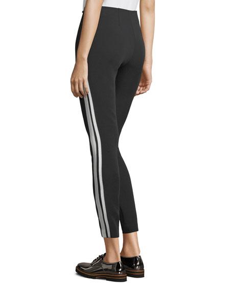 Kiana Ankle Leggings w/ Side Stripes