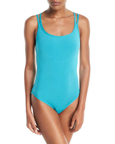 Illuminate Bound Strappy One-Piece Swimsuit