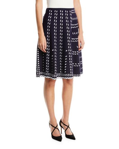 Falling Star Twirl Skirt, Petite