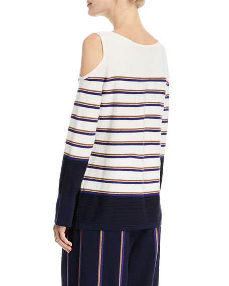 Spring Ahead Striped Top, Petite