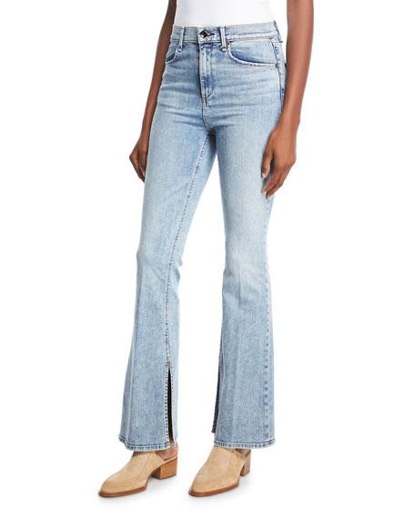 rag & bone/JEAN Bella Slim Flared Jeans with
