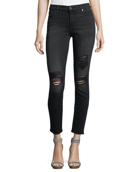The Ankle Skinny With Destroy