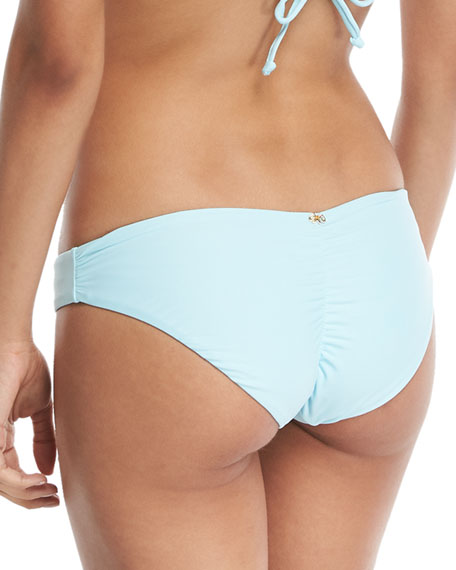 CABANA BLUE BASIC RUCHED FUL