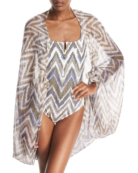 Gottex Golden Sand Pareo Coverup and Matching Items