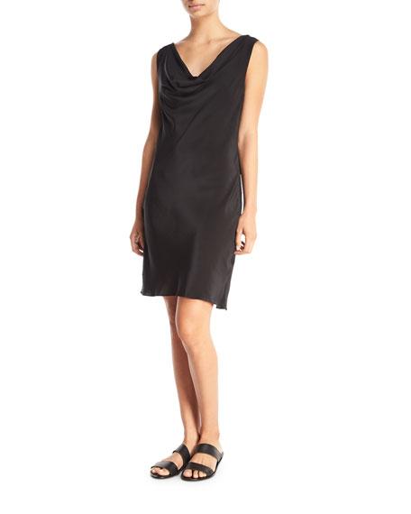 Gottex Sea Romance Cowl-Neck Shift Coverup Dress with