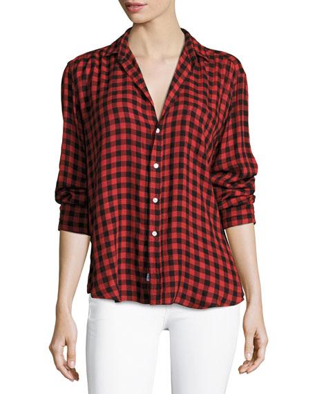 Frank & Eileen Eileen Button-Front Long-Sleeve Plaid Shirt