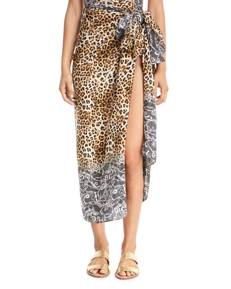 Cameroon Silk Pareo Coverup, One Size