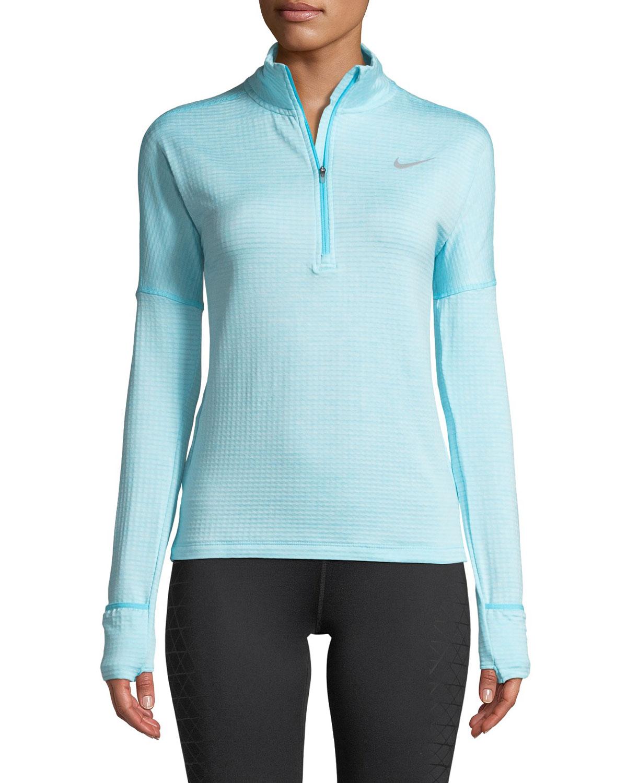 3945db8b Nike Therma Sphere Element Long-Sleeve Half-Zip Running Top | Neiman ...