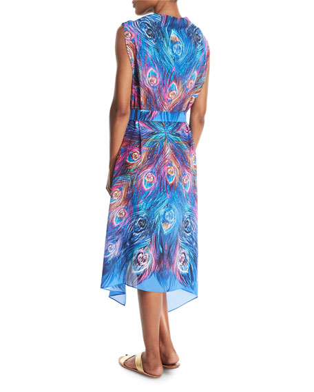 Dream Catcher Silk Pareo Coverup, One Size