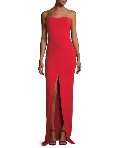 Solace London Bysha Strapless Maxi Dress