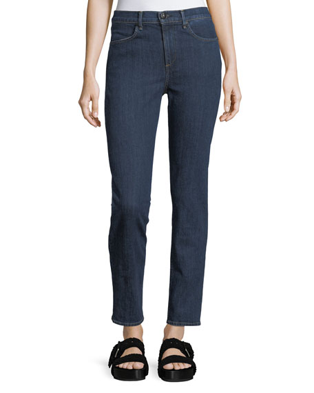 rag & bone/JEAN High-Rise Slim-Fit Cigarette Jeans