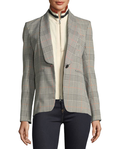 Harding Stand-Collar Zip-Front Cashmere Dickey