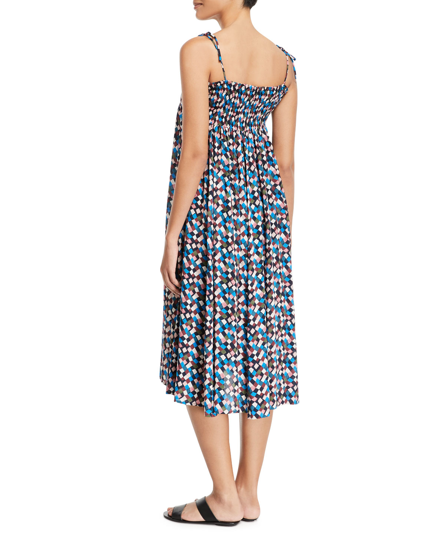 c8f9f648f168a Tory Burch Prism Printed Convertible Beach Dress | Neiman Marcus