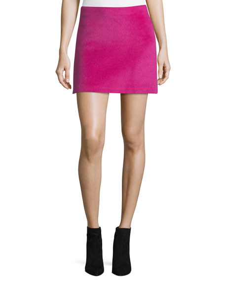 Helmut Lang Helmut Lang Re-Edition Brushed Alpaca-Wool A-Line