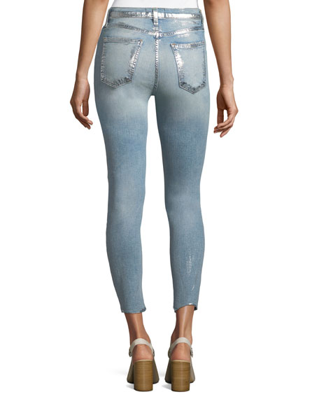 The High-Waist Straight-Leg Stiletto Jeans