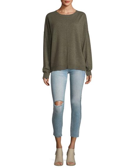 The High-Waist Straight-Leg Stiletto Jeans