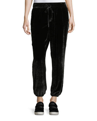 The Eden Velour Sweatpants