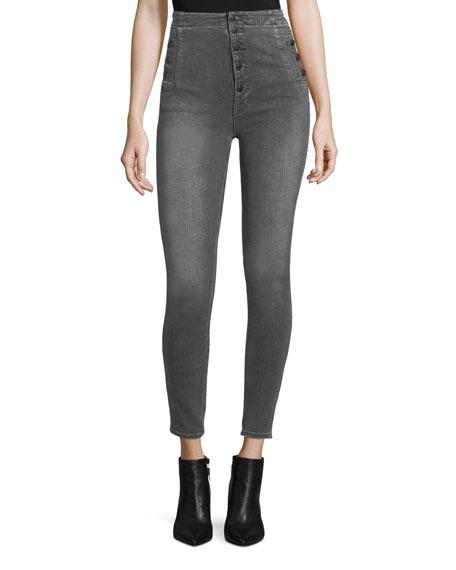 J Brand Natasha High-Waist Super-Skinny Jeans