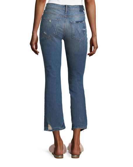 Dutchie Straight-Leg Ankle Jeans