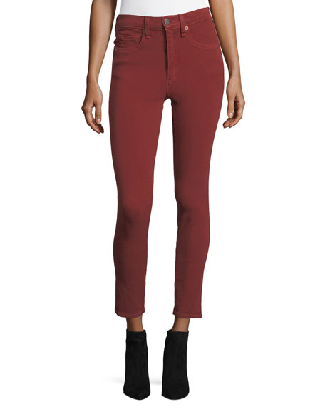 Veronica Beard Kate Five-Pocket Capri Pants