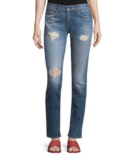 Dre Slim Boyfriend Jeans