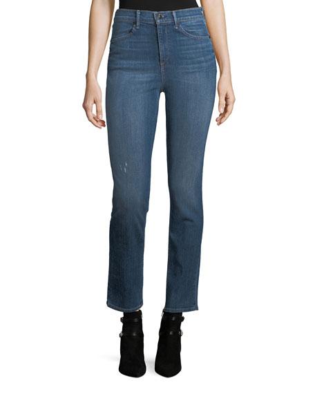 rag & bone/JEAN High-Rise Slim-Fit Cigarette Jeans